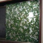 窓フィルムを窓に貼った画像