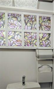 格子窓画像