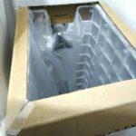 ゴミ箱にダンボール製の蓋を被せた画像