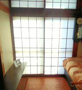 クッションフロアを敷いた和室の画像