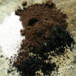 酸性の土の画像