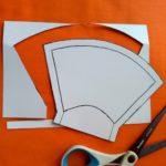 マスクの型紙の画像
