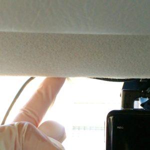 ドライブレコーダーの配線の画像
